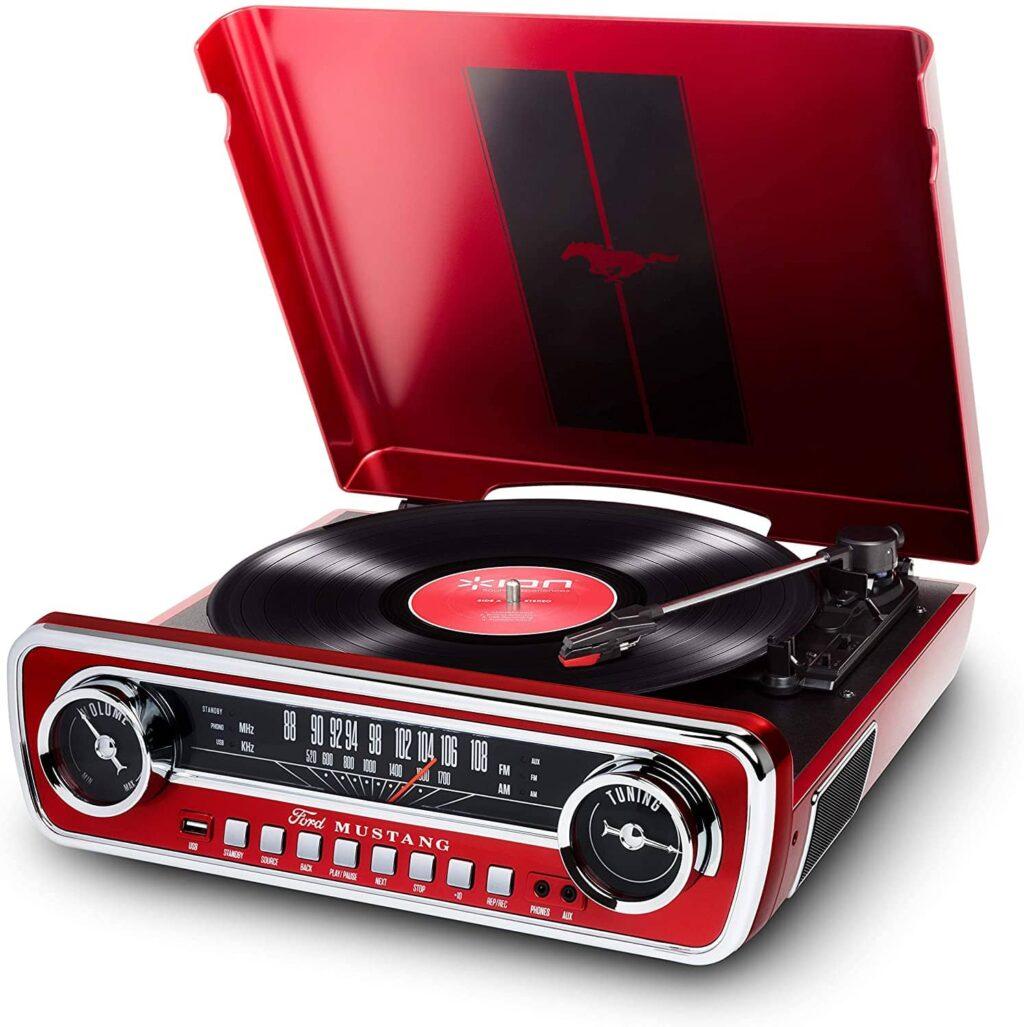 ION Audio LP Mustang Rojo